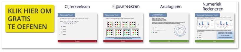 numeriek redeneren oefenen voor een capaciteitentest of assessment