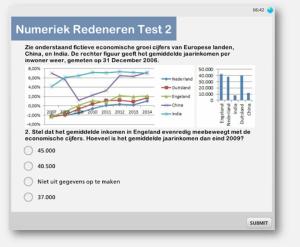 Numeriek redeneren oefenen assessment uitleg